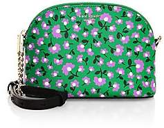 Kate Spade Women's Small Spencer Party Floral Dome Leather Crossbody Bag