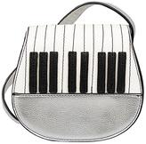 Mellow World Metallic Silver Piano Crossbody Bag - Girls