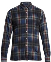 Lanvin Checked Flannel-wool Shirt