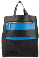 Victoria Beckham Bicolor Leather Tote