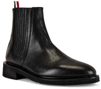 Thom Browne Chelsea Boot in Black | FWRD