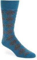 BOSS Men's 'John' Argyle Socks