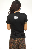 Breezy Excursion Squeezing Cheeks Black Tee