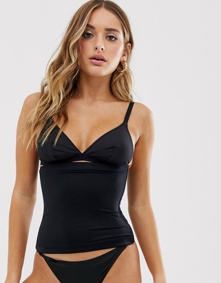 Spanx waist cincher in black