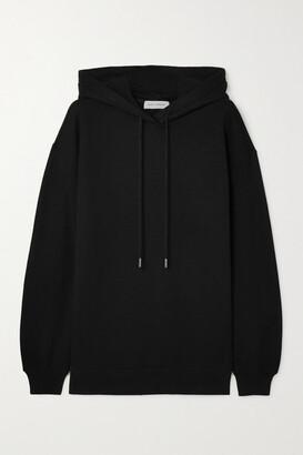 Ninety Percent Laura Oversized Organic Cotton-jersey Hoodie - Black