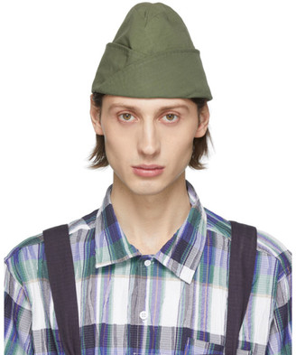 Engineered Garments Khaki Garrison Beanie