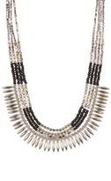 Joe Fresh Beaded Spike Collar Necklace
