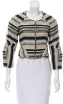 Vena Cava Patterned Cropped Jacket