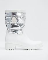 Moncler Gisele Metallic Boots