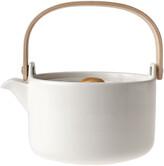 Marimekko Oiva Stoneware Teapot - White
