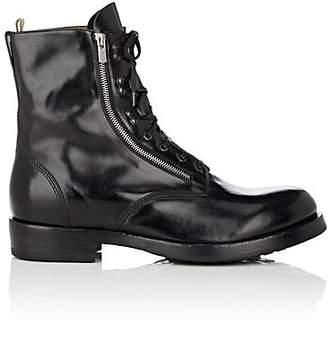 Officine Creative Men's Leather Lace-Up Boots - Black
