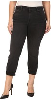 NYDJ Plus Size Plus Size Sylvia Relaxed Boyfriend Jeans in Future Fit Denim in Kensington