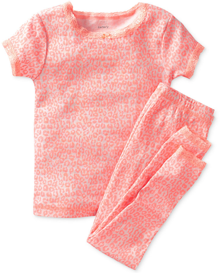 Carter's Baby Girls' 2-Piece Tee & Pajama Pants Set