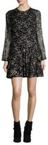 Jill Stuart Isabel GeorgeIe Printed Silk Dress