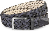 Duchamp Plaited Leather Belt