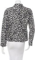 Kate Spade Silk Long Sleeve Blazer