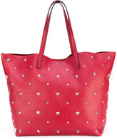 RED Valentino star studded shopping bag - women - Calf Leather - One Size