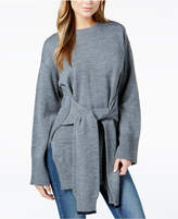 J.o.a. Wrap-Front Tunic Sweater