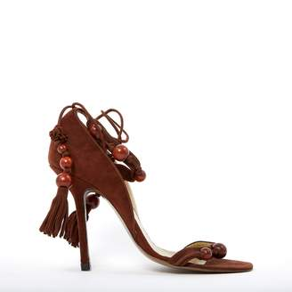 Givenchy Brown Suede Heels
