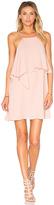 Krisa Flounce Top Mini Dress