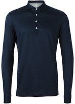 Eleventy longsleeved polo shirt