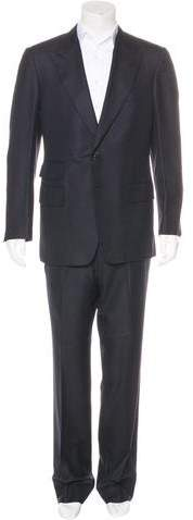 Tom Ford Silk-Blend Peak-Lapel Suit