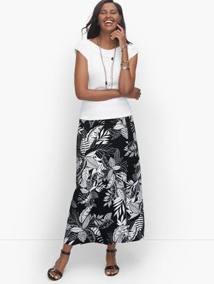 Talbots Jersey Knit Maxi Skirt