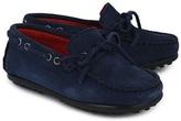 Hackett Navy Suede Loafer