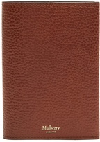 Mulberry Pebbled-leather passport holder