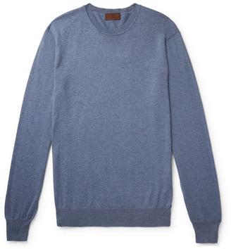 Altea Cotton And Cashmere-Blend Sweater