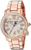 Betsey Johnson Women's Quartz Metal and Alloy Casual Watch