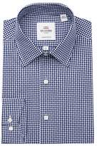 Ben Sherman Dobby Gingham Tailored Slim Fit Dress Shirt