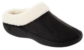 Isotoner Signature Isotoner Woman's Microsuede Marla Hoodback Comfort Slippers