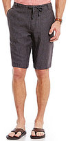 Perry Ellis Linen Drawstring Shorts