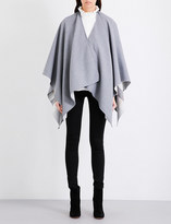 Burberry Charlotte reversible Merino wool cape