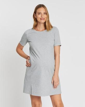 Gap Maternity Maternity Side-Zip Nursing Dress