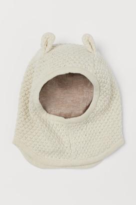 H&M Cotton Balaclava - Beige