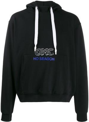 OMC logo-print hoodie