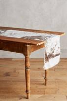 Anthropologie Marbled Table Runner