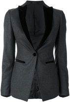 Tagliatore fitted smoking jacket - women - Virgin Wool - 40