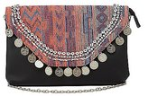 Charlotte Russe Embellished Woven Crossbody Bag