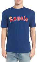 American Needle Los Angeles Angels Twofold Crew Neck Tee