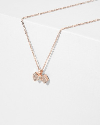 Ted Baker SANRA Crystal bow pendant
