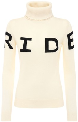 Perfect Moment Ride Wool Knit Sweater