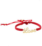 Tai Red Crystal Love Bracelet