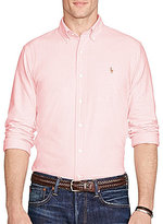 Polo Ralph Lauren Slim-Fit Solid Oxford Long-Sleeve Woven Shirt