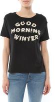 Sundry Good Morning Winter Loose Crew Tee