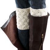 Tonsee Women's Winter Knit Leg Warmers Boots Socks
