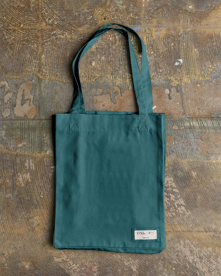 Thumbnail for your product : Uskees - The 4002 Small Organic Tote Bag - Super Green