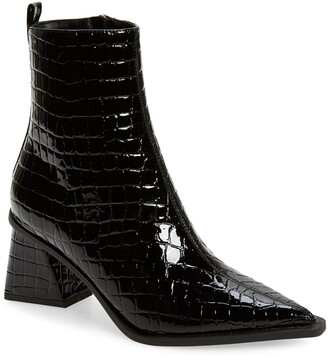 Topshop Bronx Pointy Toe Bootie